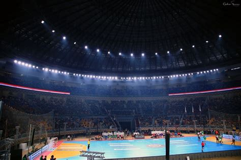 Led Arena Lights - cairo stadium lights up with arena led lighting system