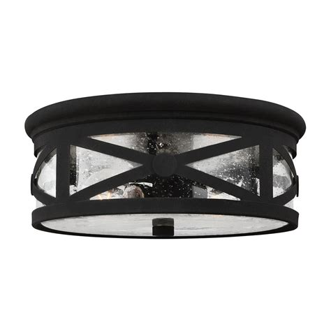 outdoor flush mount ceiling light fixtures sea gull lighting 7821402 lakeview 2 light outdoor ceiling