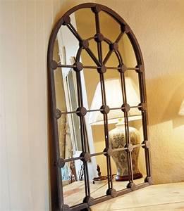 Wall decor nice window mirror windowpane