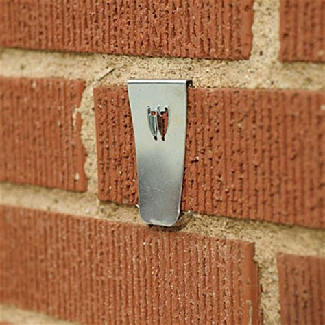 brick hangers set of 4 contemporary wall hooks by