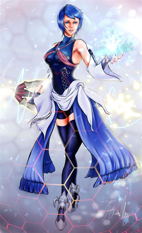 Aqua Fan Art By Francis Mary Art From Kingdom Hearts Art