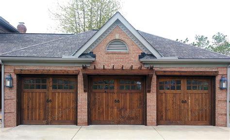 wooden garage doors wood garage doors wooden overhead door paint grade