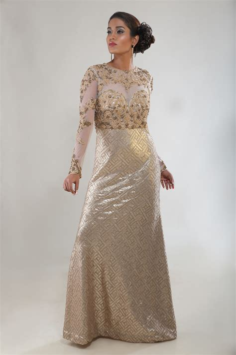 buy  gold indian wedding gown ad singh