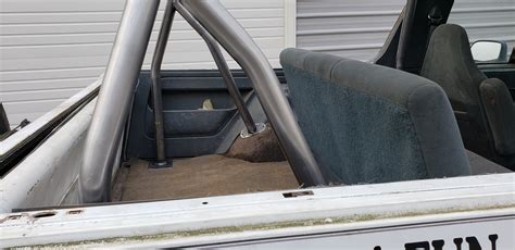 Get the best deals on interior parts for 1977 ford bronco. 1978-1996 Ford Bronco - Rear 6 Point Roll Cage #BR12