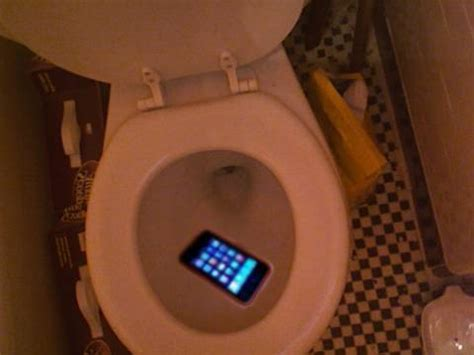 dropped my iphone in the toilet iphone dropped in toilet
