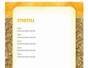 image gallery lunch menu templates With free school lunch menu templates