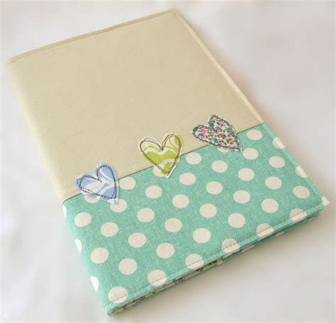 A5 Embroidered Fabric Notebook Cover With A5 Notebook