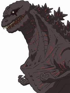 Anime Shin Godzilla by godzilla-image on DeviantArt