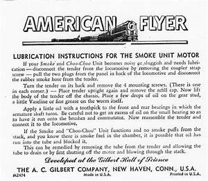 American Flyer Locomotive 312 Parts List  U0026 Diagram