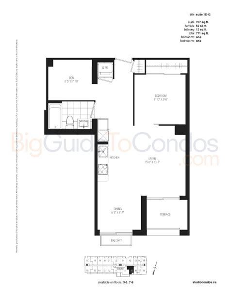 studio condos reviews pictures floor plans listings