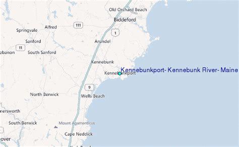 kennebunkport kennebunk river maine tide station location guide