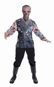 Halloween Skelett Kostüm : skelett kost m t shirt skelett biker halloween horror ~ Lizthompson.info Haus und Dekorationen