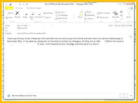 office email template sarakdyckcom
