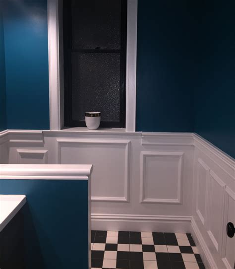 ekena millwork ashford wall panel  bathroom remodel