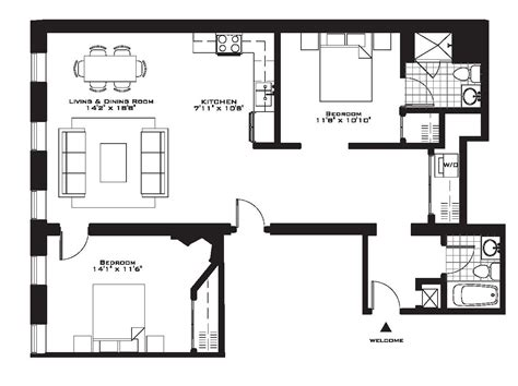 2 bedroom floor plan 55 why live ordinary sized brand new