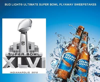 Flyaway To Watch Super Bowl With Bud Light Sweepstakesbible