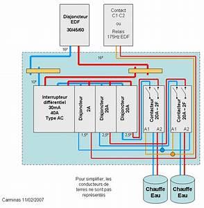 Probleme Chauffe Eau Electrique : brancher deux chauffe eau lectriques disjoncteurs et ~ Melissatoandfro.com Idées de Décoration