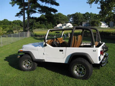 jeep yj wrangler    cylinder  speed
