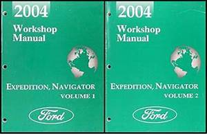 2004 Ford Expedition Lincoln Navigator Wiring Diagram Manual Original