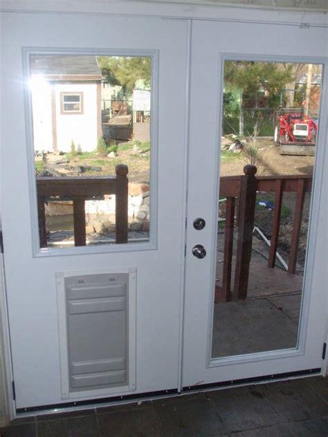 breathtaking doggie doors  french doors design