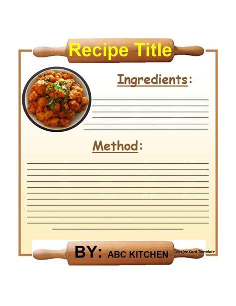 cookbook template 44 cookbook templates recipe book recipe cards