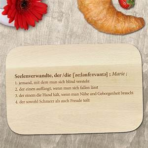 Frühstücksbrett Mit Foto : fr hst cksbrett mit gravur definition seelenverwandte motiv ~ Sanjose-hotels-ca.com Haus und Dekorationen