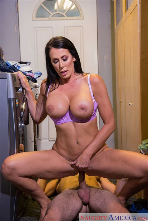 Sexy Reagan Foxx With Big Fake Tits Has Sex With Her Son S