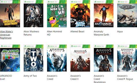 xbox   compatibility games list