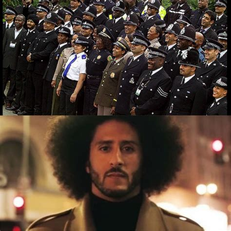 video national black police association force defends nike kaepernick commercial against white