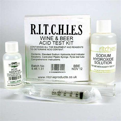 Acid Test Kit  Supplied By Dowricks Goodlife