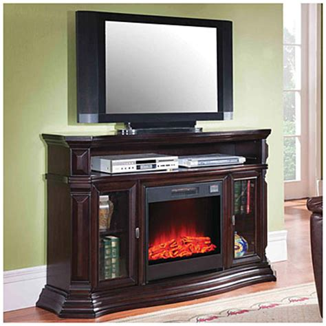 fireplaces at big lots 60 quot console espresso electric fireplace big lots