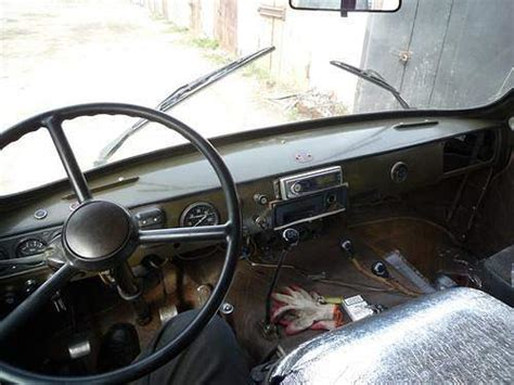 uaz interior old cars from russia