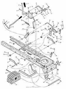 Murray X B Lawn Tractor Parts Diagrams