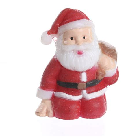 micro mini santa christmas miniatures christmas and