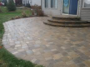 Image of: Patio Stone Paver Patio Design Idea Stone Patio Designs As Happiness Resources