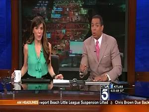 LA News Anchors' Reaction to Earthquake on St Patrick's ...