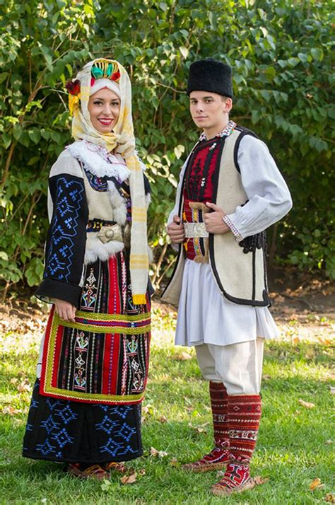 Decorated Caps by Serbian Folk Costume Great Diversity Of With