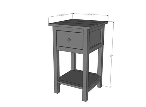 easy night stand woodworking plans woodworking projects