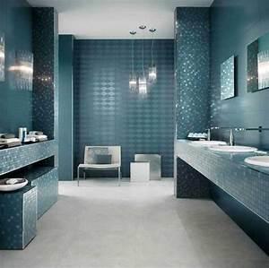 le carrelage salle de bain quelles sont les meilleures With salle de bain design avec voir sapin décoré