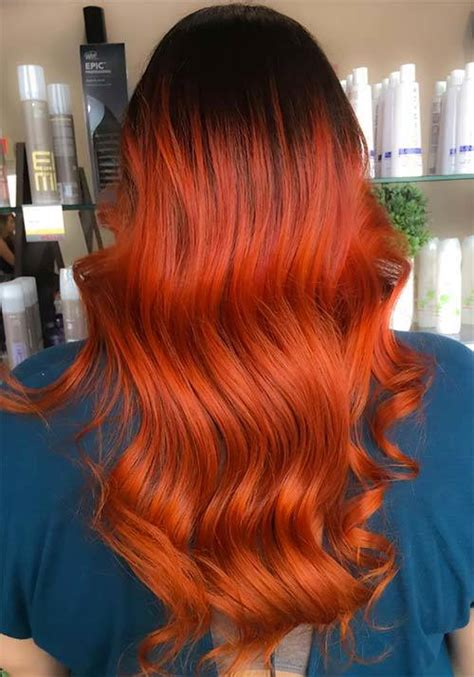 10 Bold Burnt Orange Hair Colors For Adventurous Women
