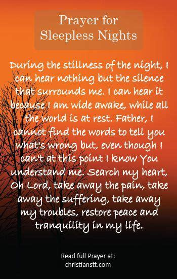 a prayer for those sleepless nights so true gebet