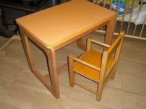 Petit Bureau Enfant : petit bureau pour enfant et sa chaise d c 39 aline ~ Teatrodelosmanantiales.com Idées de Décoration