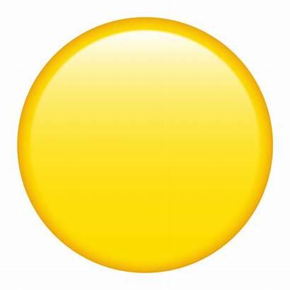 Emoji Circle Yellow Icon Symbols Geometric Forpersonaluseonly