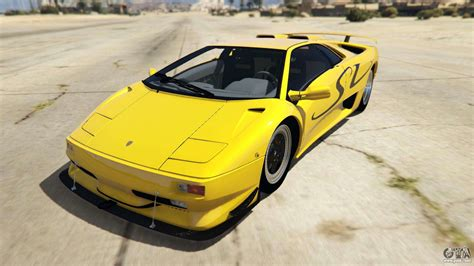Lamborghini Diablo Sv 1997 For Gta 5