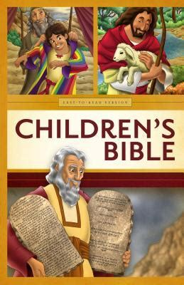 childrens easy  read bible oe  anonymous