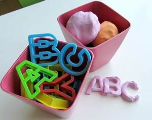 alphabet playdough alphabet for starters no time for With playdough letter cutters