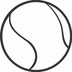 10 Tennis Ball Outline Vector Art Images - Tennis Ball ...
