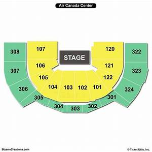 Scotiabank Arena Seating Chart