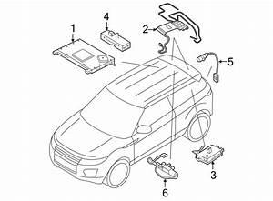 2017 Land Rover Range Rover Evoque Radio Antenna Base