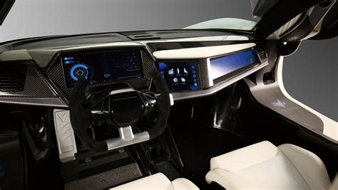 Wallpaper Baic Arcfox-7, Supercar, Electric Cars, Interior